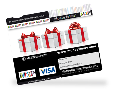 MoneyToEGift Card